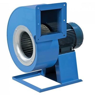 Центробежен вентилатор с едностранно засмукване и изнесен двигател