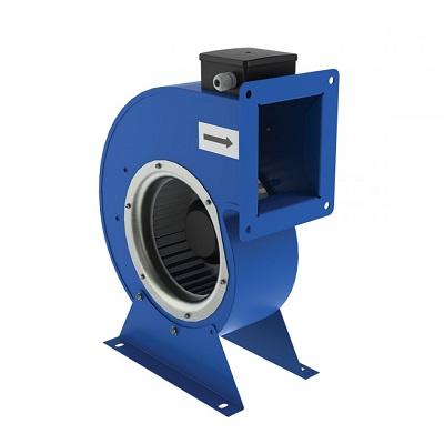 Центробежен вентилатор с куплиран двигател и едностранно засмукване